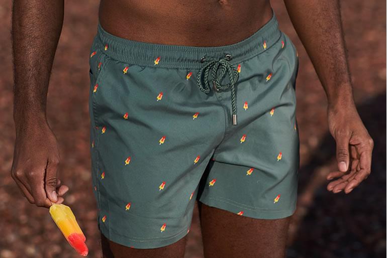 A-dam Underwear Bram swimshorts